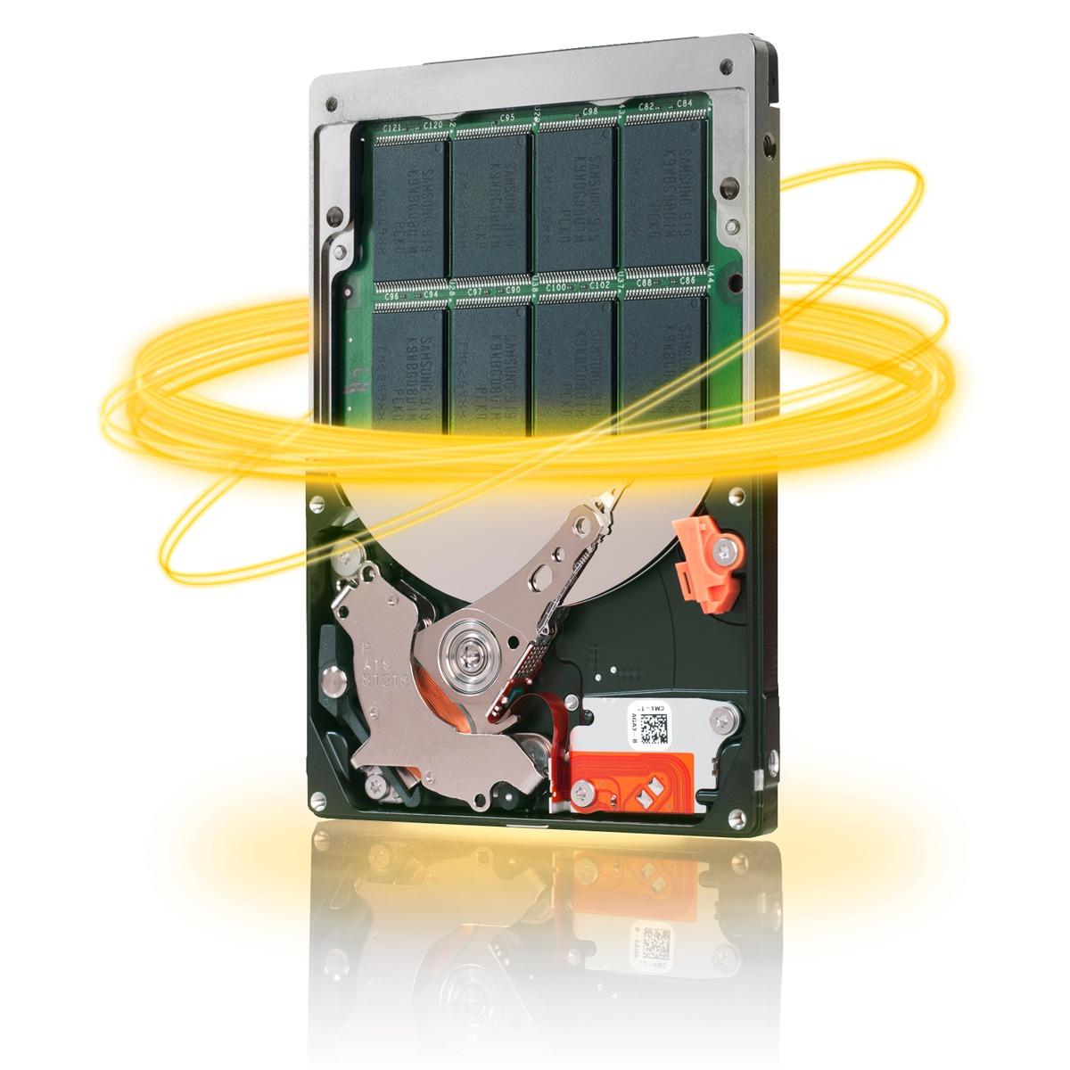 "Disque dur interne Seagate Momentus XT Hybrid SSD 750 Go NAND Flash SLC 8 Go Disque dur Hybride SSD 2.5"" 7200 RPM 32 Mo Serial ATA 6Gbits/s (bulk)"