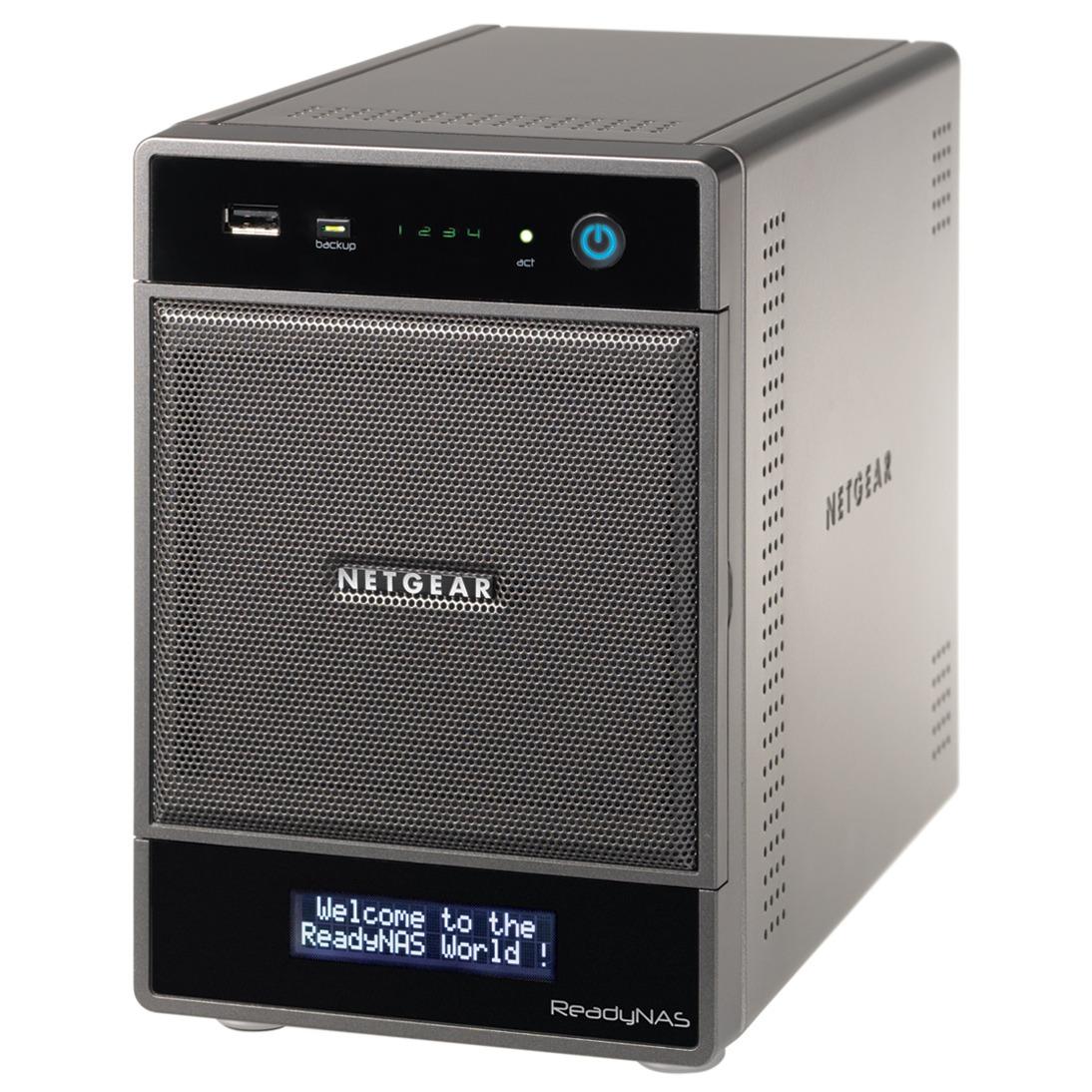 Serveur NAS Netgear ReadyNAS Ultra 4 baies Serveur NAS multimédia 4 baies (sans disque dur)