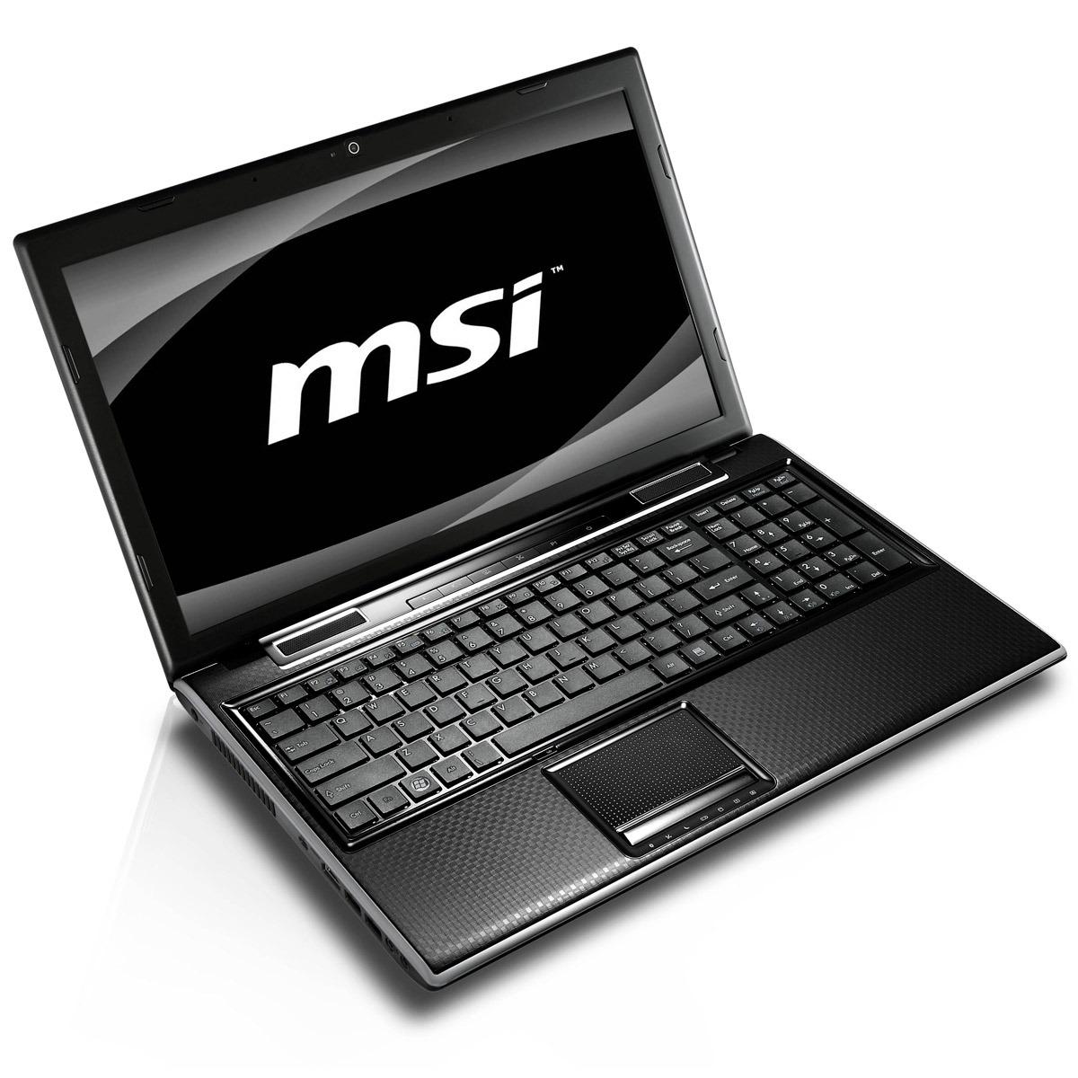 "PC portable MSI FX600-030 MSI FX600-030 - Intel Core i3-350M 4 Go 320 Go 15.6"" LCD NVIDIA GeForce GT 325M Graveur DVD Wi-Fi N/Bluetooth Webcam Windows 7 Premium 64 bits (garantie constructeur 2 ans)"