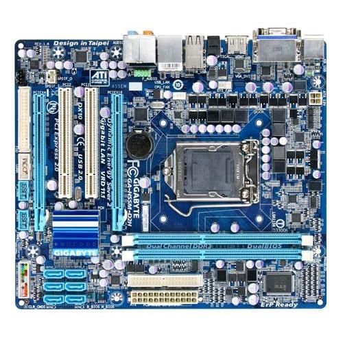 Carte mère Gigabyte GA-H55M-D2H Gigabyte GA-H55M-D2H (Intel H55 Express) - Micro ATX