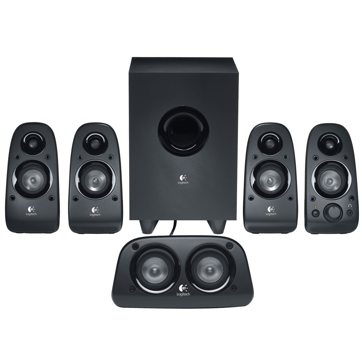 how to connect 5.1 speakers to pc