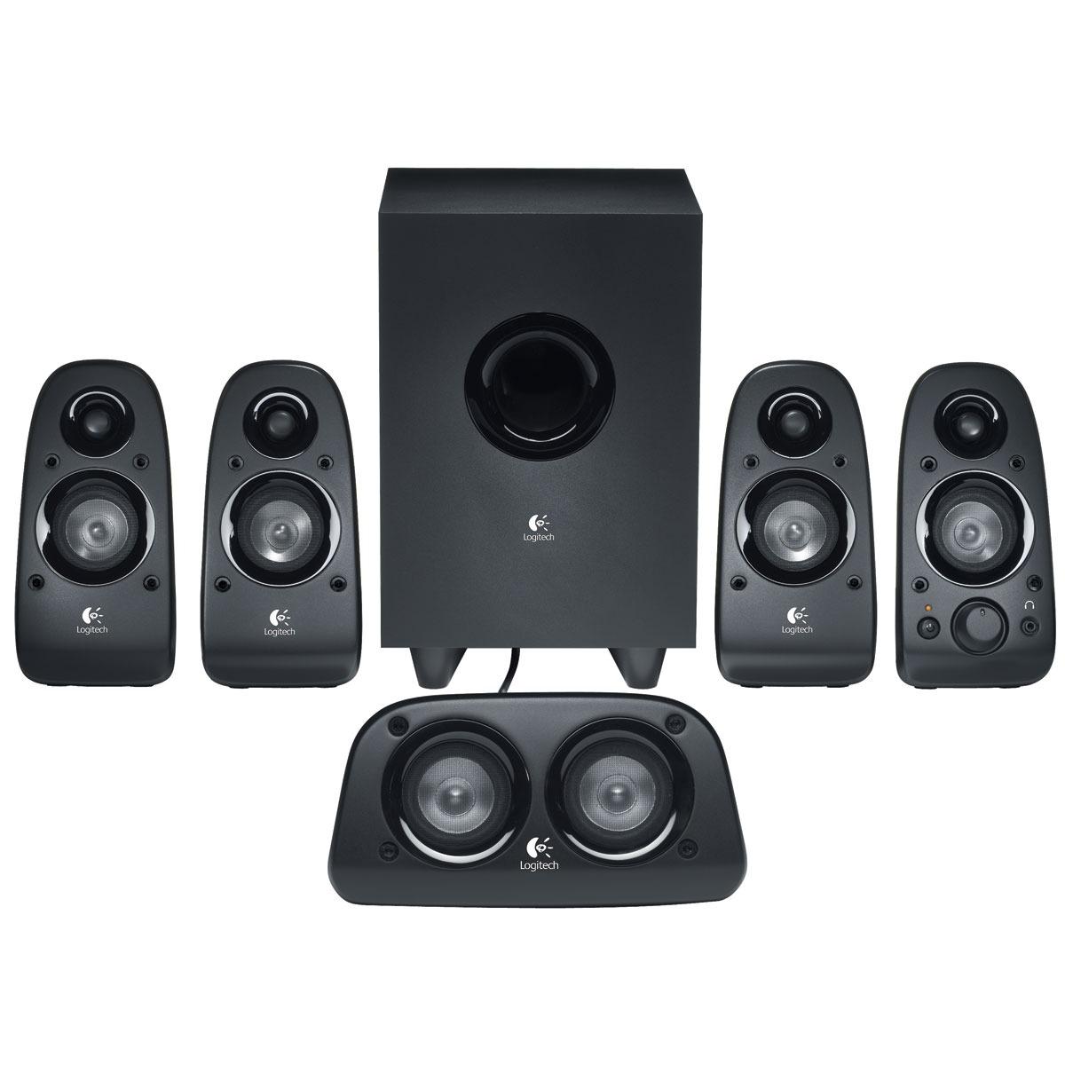 logitech speaker system z506 enceinte pc logitech sur ldlc. Black Bedroom Furniture Sets. Home Design Ideas