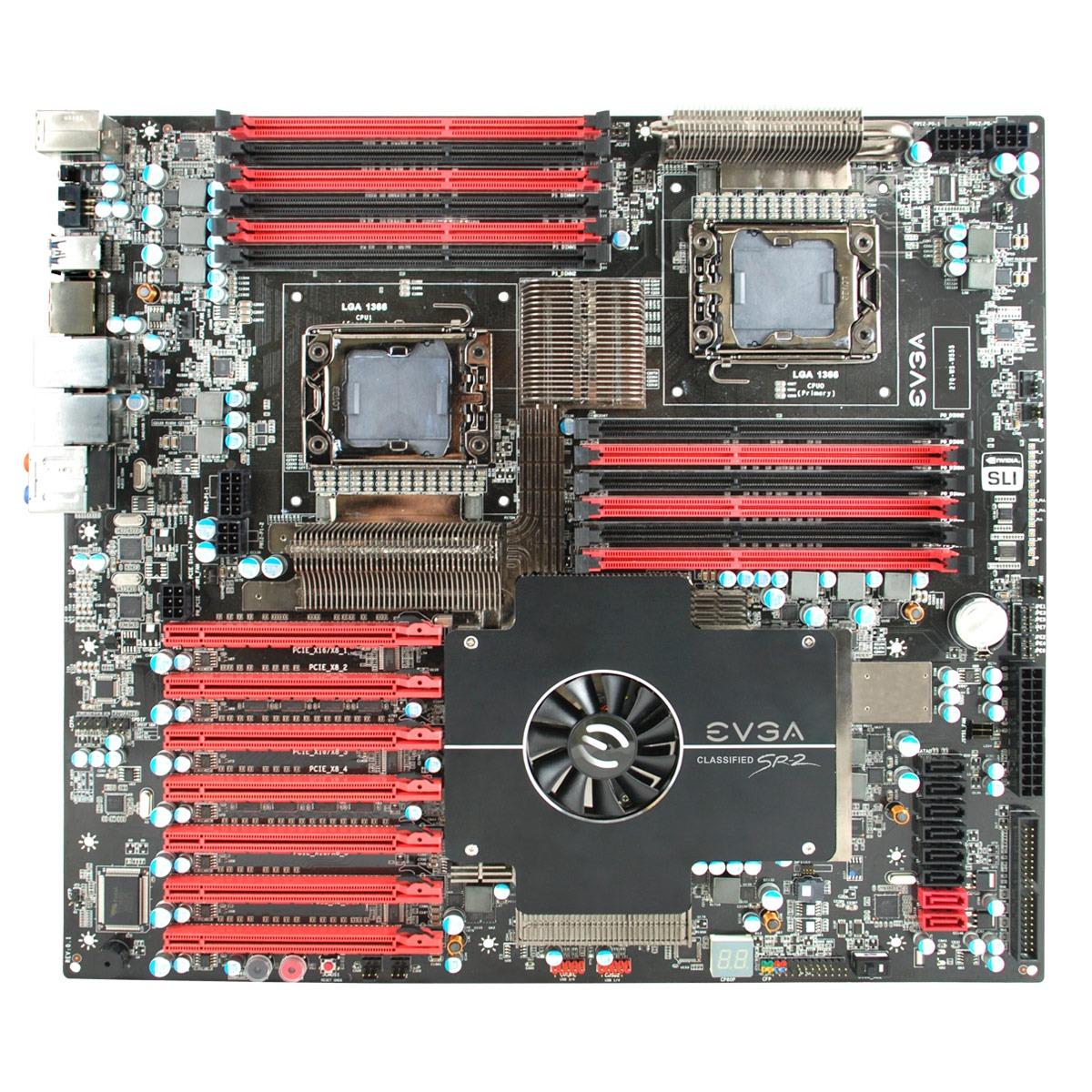 Carte mère EVGA Classified SR-2 (Intel 5520) - HPTX EVGA Classified SR-2 (Intel 5520) - HPTX
