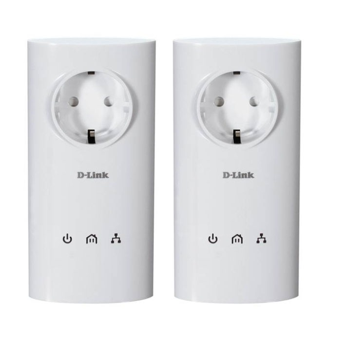 CPL D-Link DHP-P307AV D-Link DHP-P307AV - Pack de 2 adaptateurs CPL Homeplug AV 200Mbps + prise électrique