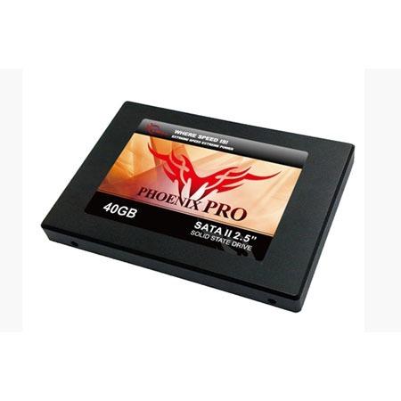 "Disque SSD G.Skill Phoenix Pro 40 Go G.Skill Phoenix Pro - SSD 40 Go 2.5"" MLC Serial ATA II"
