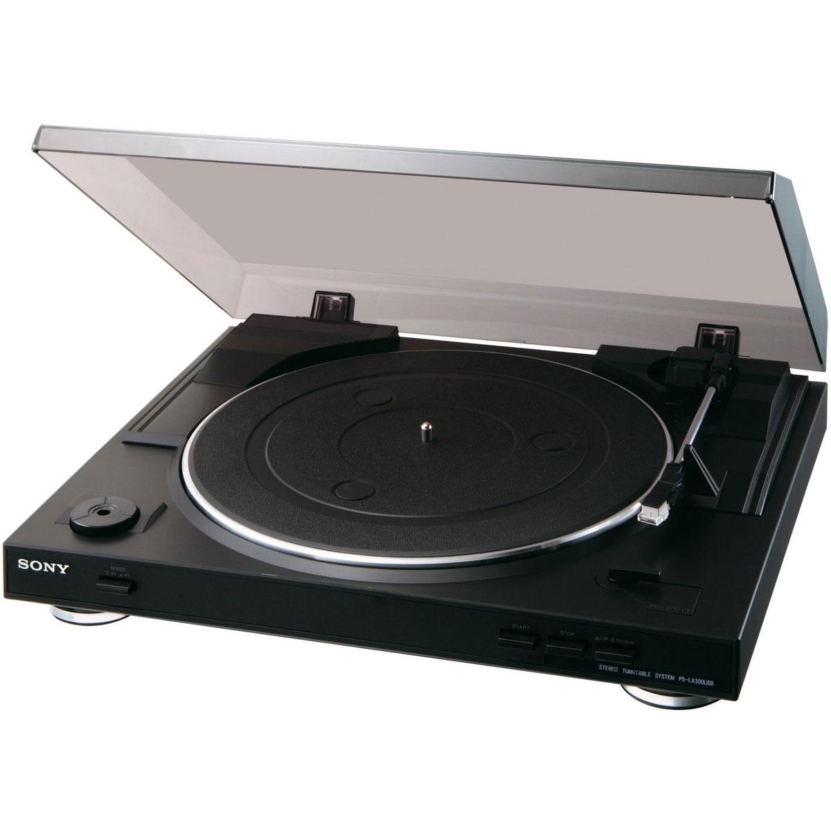 sony ps lx300usb pslx300usb achat vente platine vinyle sur. Black Bedroom Furniture Sets. Home Design Ideas