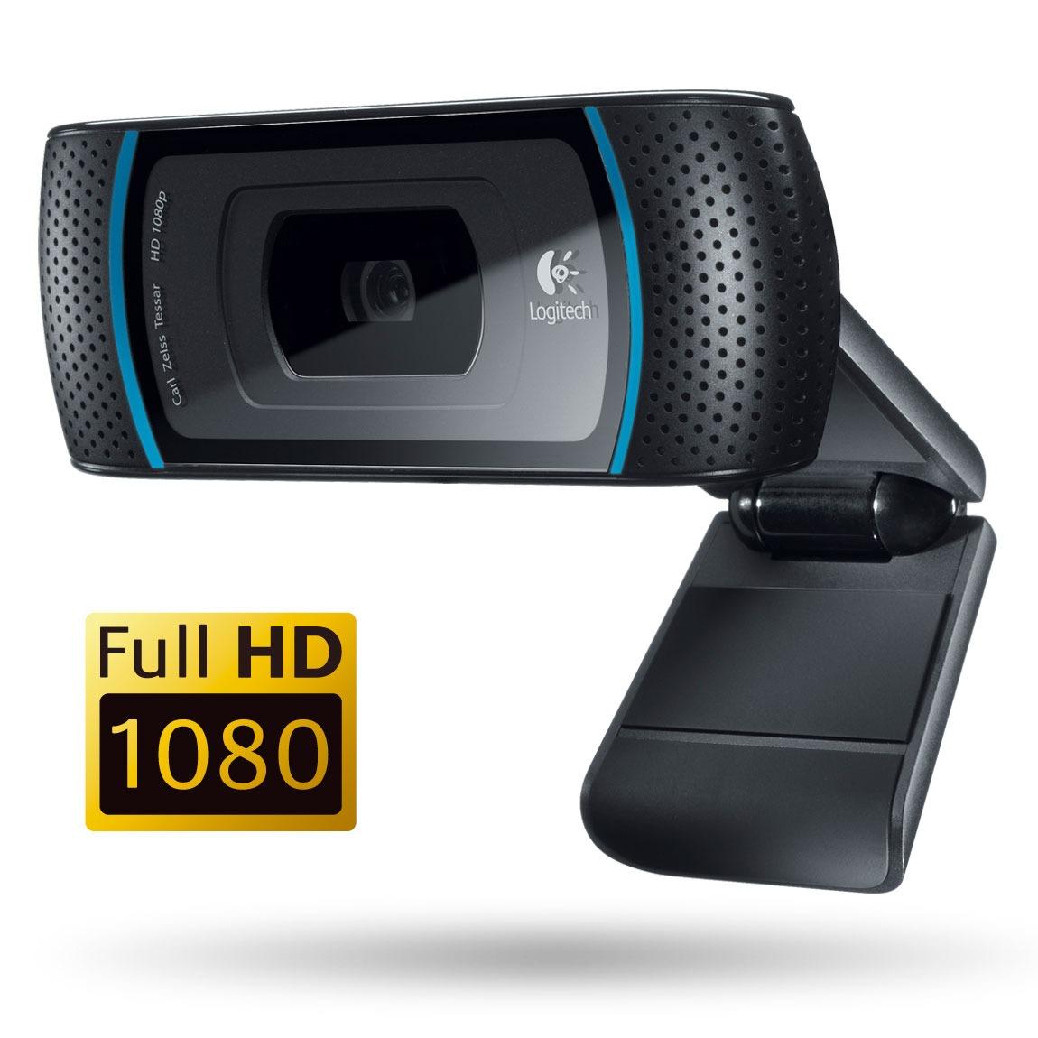 Webcam Logitech HD Pro Webcam C910 Logitech HD Pro Webcam C910