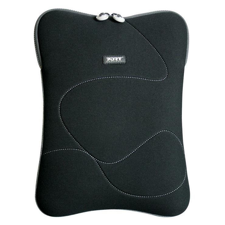 Sac, sacoche, housse PORT Designs Delhi 13/14'' (gris) Housse pour ordinateur portable (jusqu'à 14'') - (coloris noir/gris)