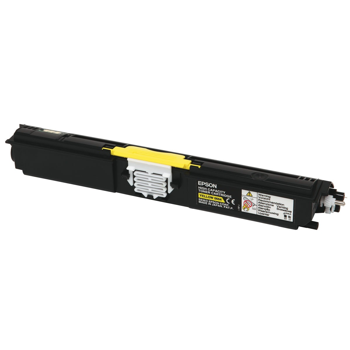 Toner imprimante Epson C13S050554 Epson C13S050554 - Toner Jaune Haute Capacité (2 700 pages)