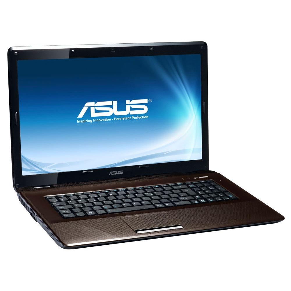 "PC portable ASUS K72JR-TY110V ASUS K72JR-TY110V - Intel Core i3-370M 4 Go 500 Go 17.3"" LED ATI Mobility Radeon HD 5470 Graveur DVD Wi-Fi N/Bluetooth Webcam Windows 7 Premium 64 bits (garantie constructeur 2 ans)"