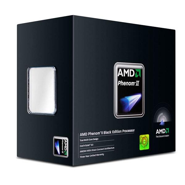 Processeur AMD Phenom II X2 560 Black Edition (3.3 GHz) Processeur Dual Core Socket AM3 0.045 micron Cache L2 1 Mo Cache L3 6 Mo (version boîte - garantie constructeur 3 ans)