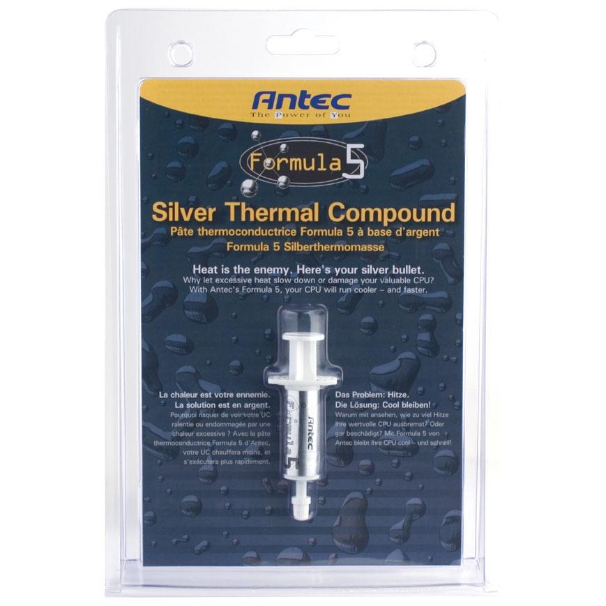 Pâte thermique PC Antec Formula 5 Antec Formula 5 - Pâte thermique (Seringue)