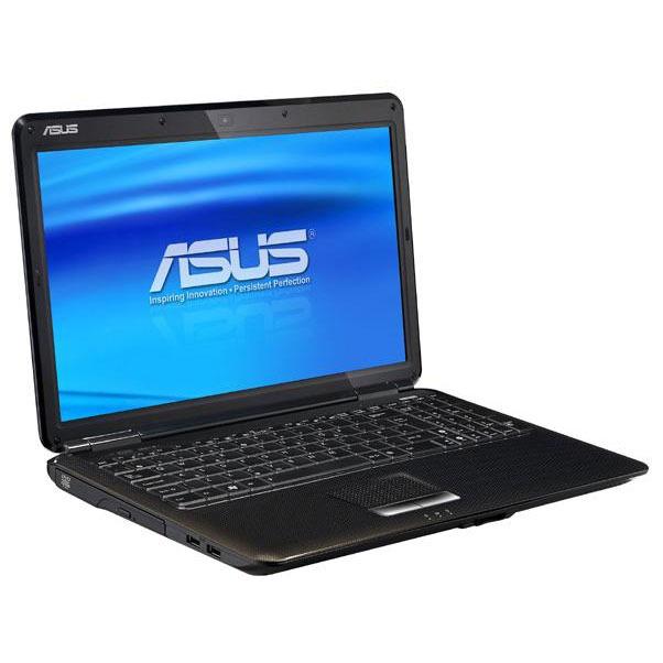 """PC portable ASUS K50ID-SX211V ASUS K50ID-SX211V - Intel Pentium T4500 4 Go 500 Go 15.6"""" LED NVIDIA GeForce GT320M Graveur DVD Wi-Fi N Webcam Windows 7 Premium 64 bits (garantie constructeur 2 ans)"""