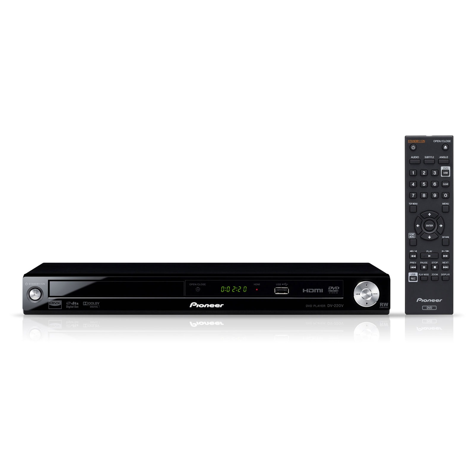 pioneer dv 220 lecteur dvd pioneer sur ldlc. Black Bedroom Furniture Sets. Home Design Ideas