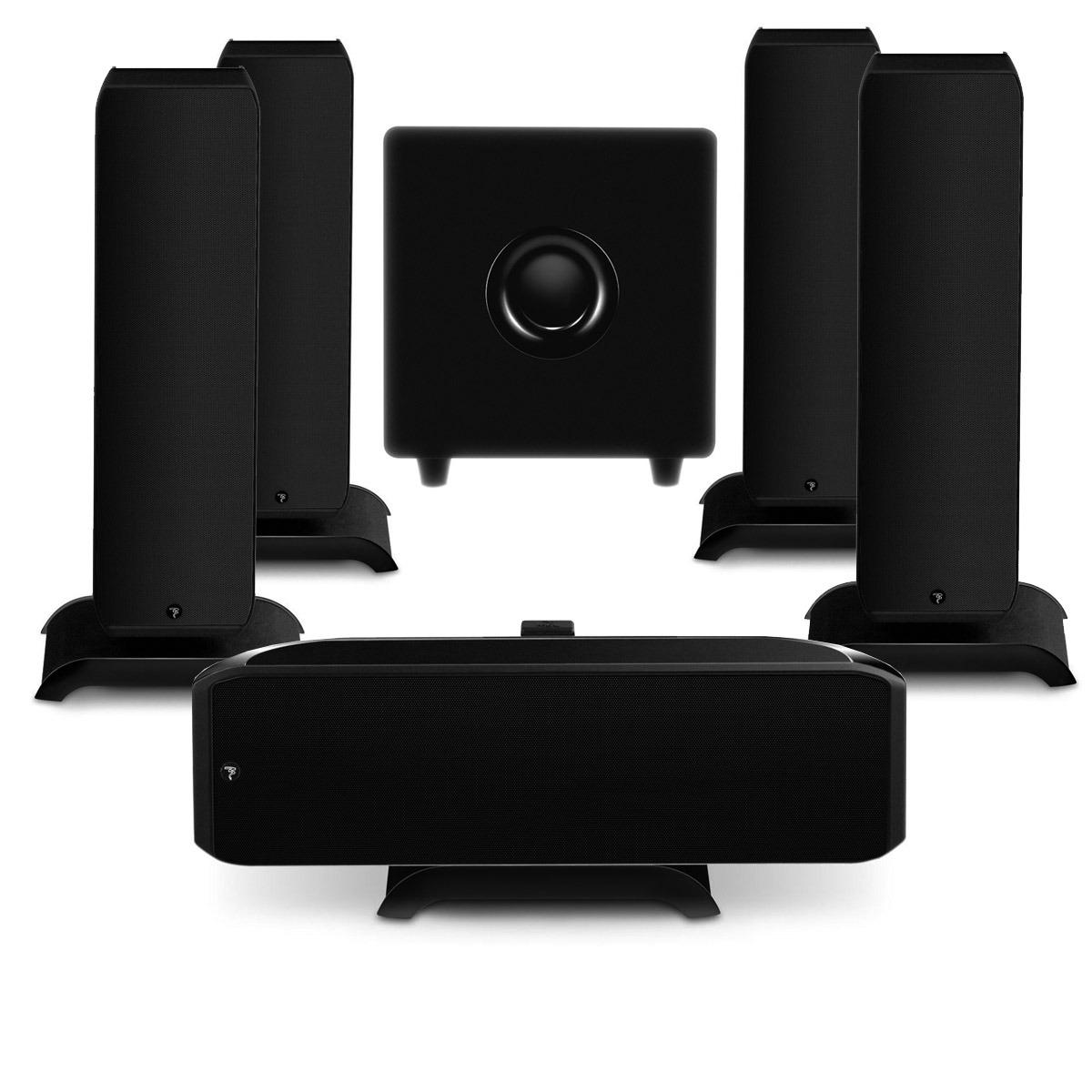 focal pack sib xl 5 1 jet black enceintes hifi focal sur. Black Bedroom Furniture Sets. Home Design Ideas