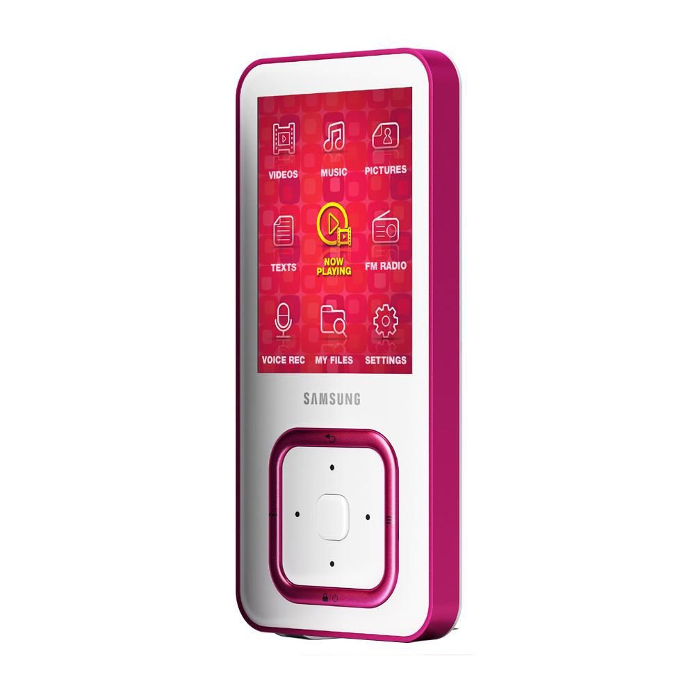 "Lecteur MP3 & iPod Samsung YP-Q3CP Samsung YP-Q3CP Rose - Lecteur MP3 8 Go Ecran 2,2"" FM"