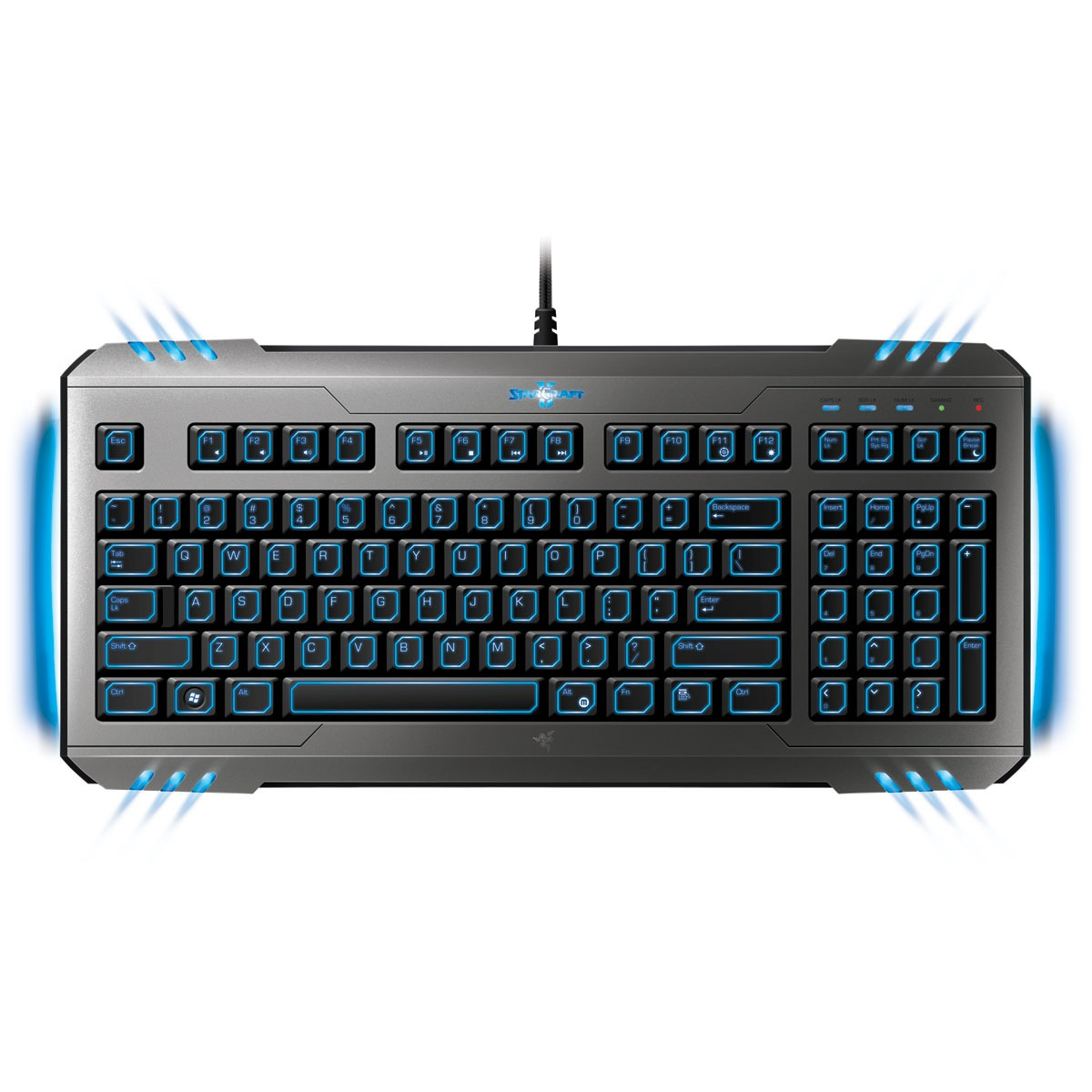 razer marauder starcraft ii gaming keyboard clavier pc razer sur ldlc. Black Bedroom Furniture Sets. Home Design Ideas