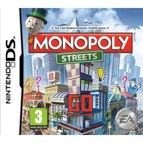 monopoly streets nintendo ds jeux nintendo ds. Black Bedroom Furniture Sets. Home Design Ideas
