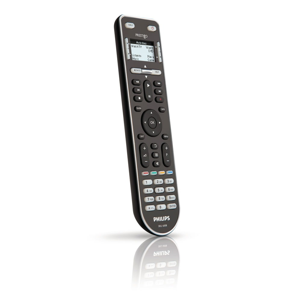 Télécommande Philips Prestigo SRU6008 Télécommande universelle 8 en 1
