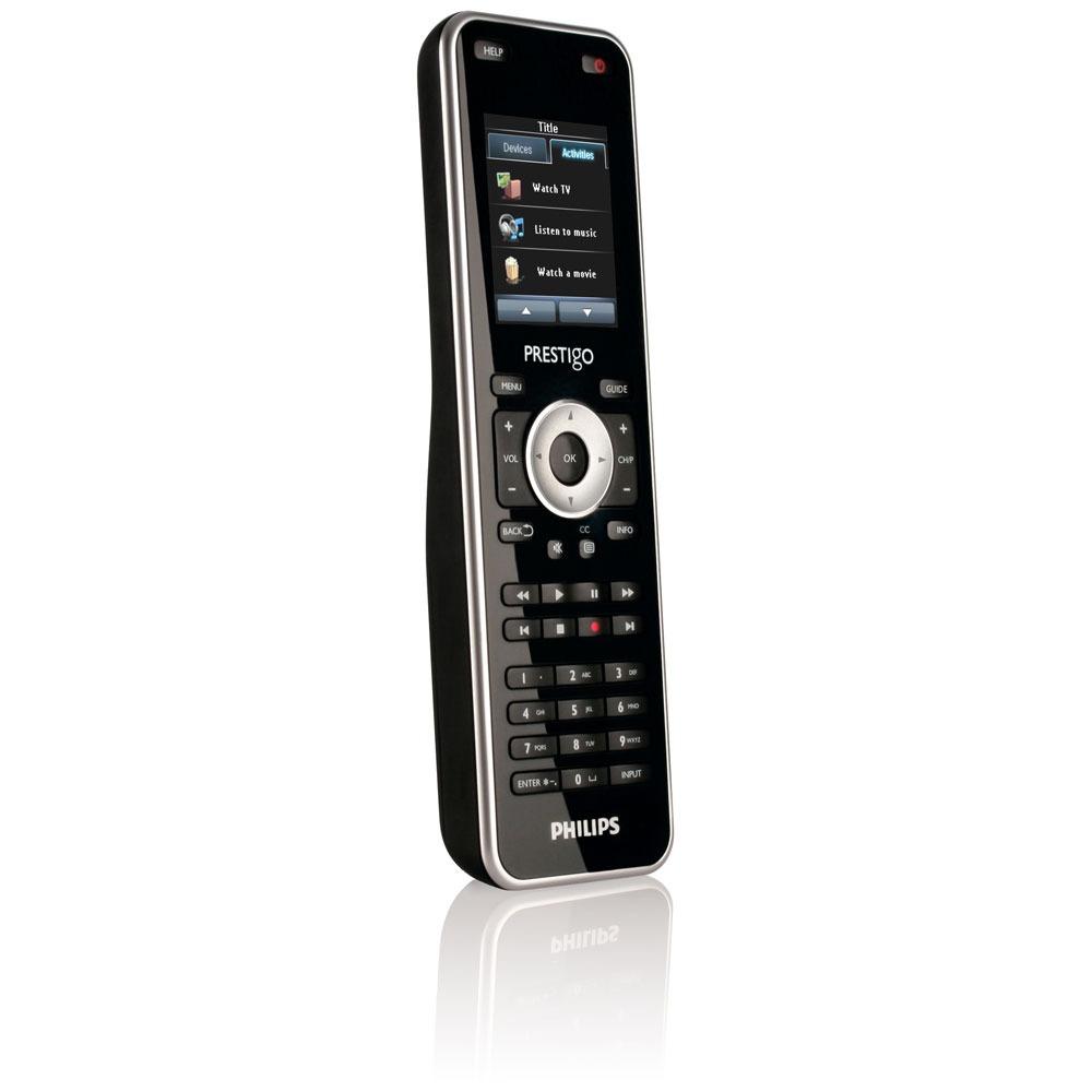 Télécommande Philips Prestigo SRT8215 Télécommande universelle tactile 15 en 1