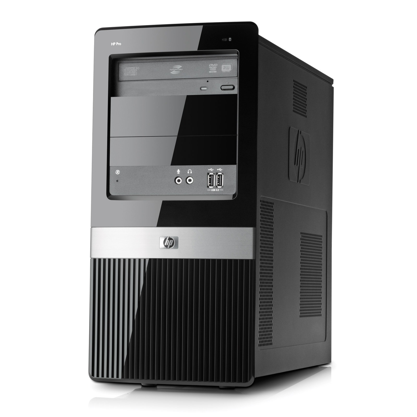 Hp pro 3120 wu271ea pc de bureau hp sur ldlc - Ordinateur de bureau windows 7 pro ...