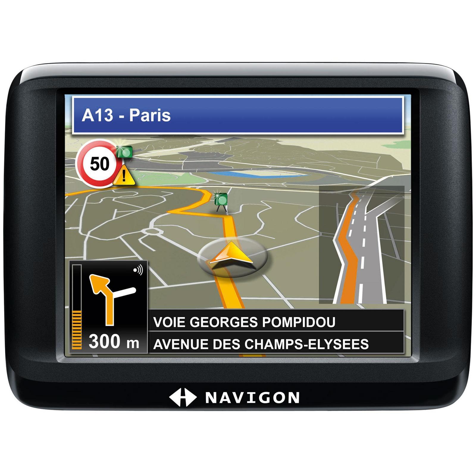 """GPS Navigon 20 Easy Navigon 20 Easy - GPS 23 pays d'Europe Ecran 3.5"""" TMC"""