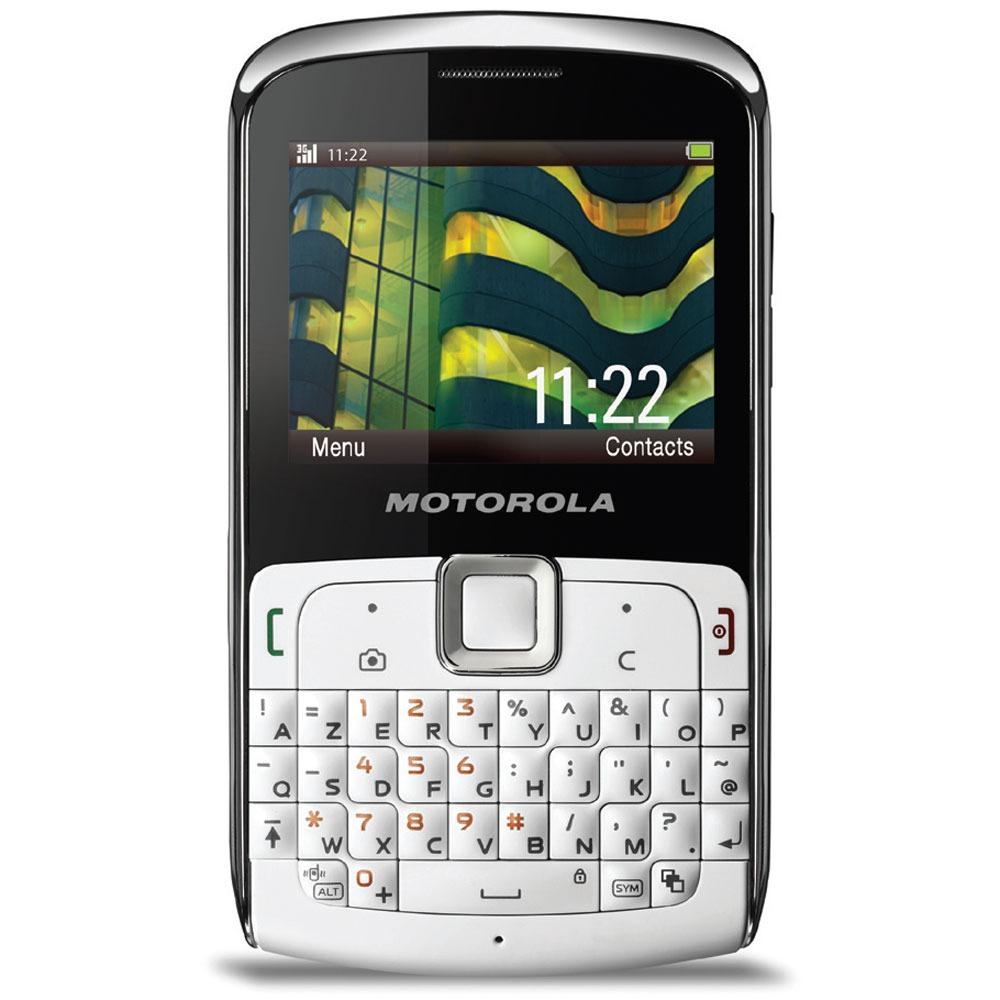 Mobile & smartphone Motorola EX112 Téléphone 2G avec clavier complet