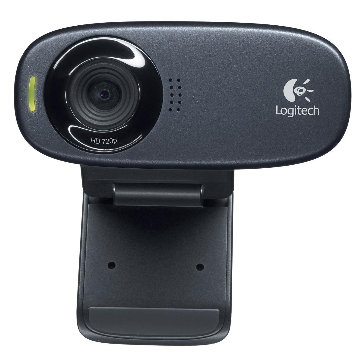 Webcam Logitech HD Webcam C310 Webcam HD 720p avec microphone intégré