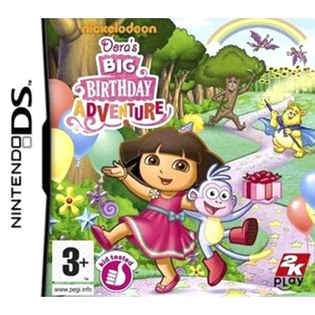 Jeux Nintendo DS Dora's Big Birthday Adventure (Nintendo DS) Dora's Big Birthday Adventure (Nintendo DS)
