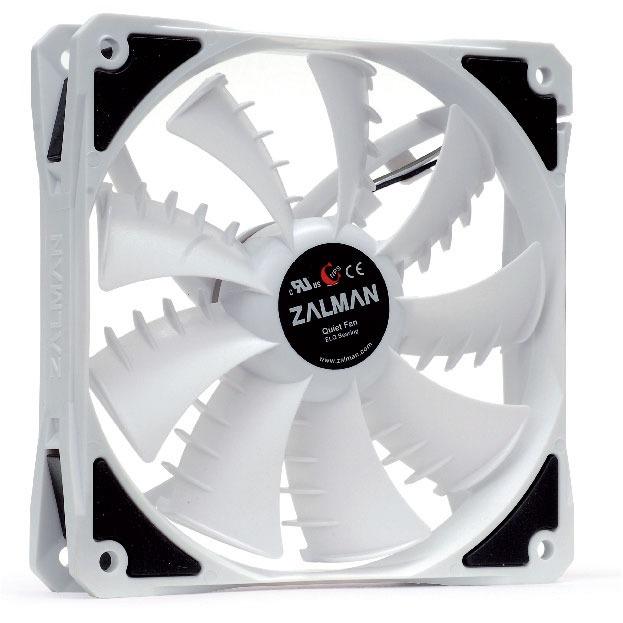 Ventilateur boîtier Zalman ZM-SF3 Zalman ZM-SF3 - Ventilateur de boîtier 120mm