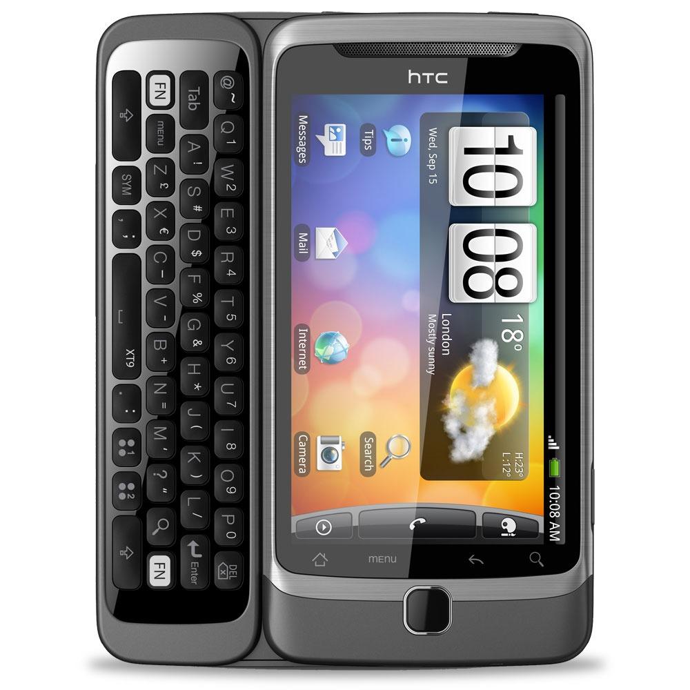 """Mobile & smartphone HTC Desire Z Smartphone 3G+ avec écran tactile 3.7"""" et clavier complet coulissant sous Android"""