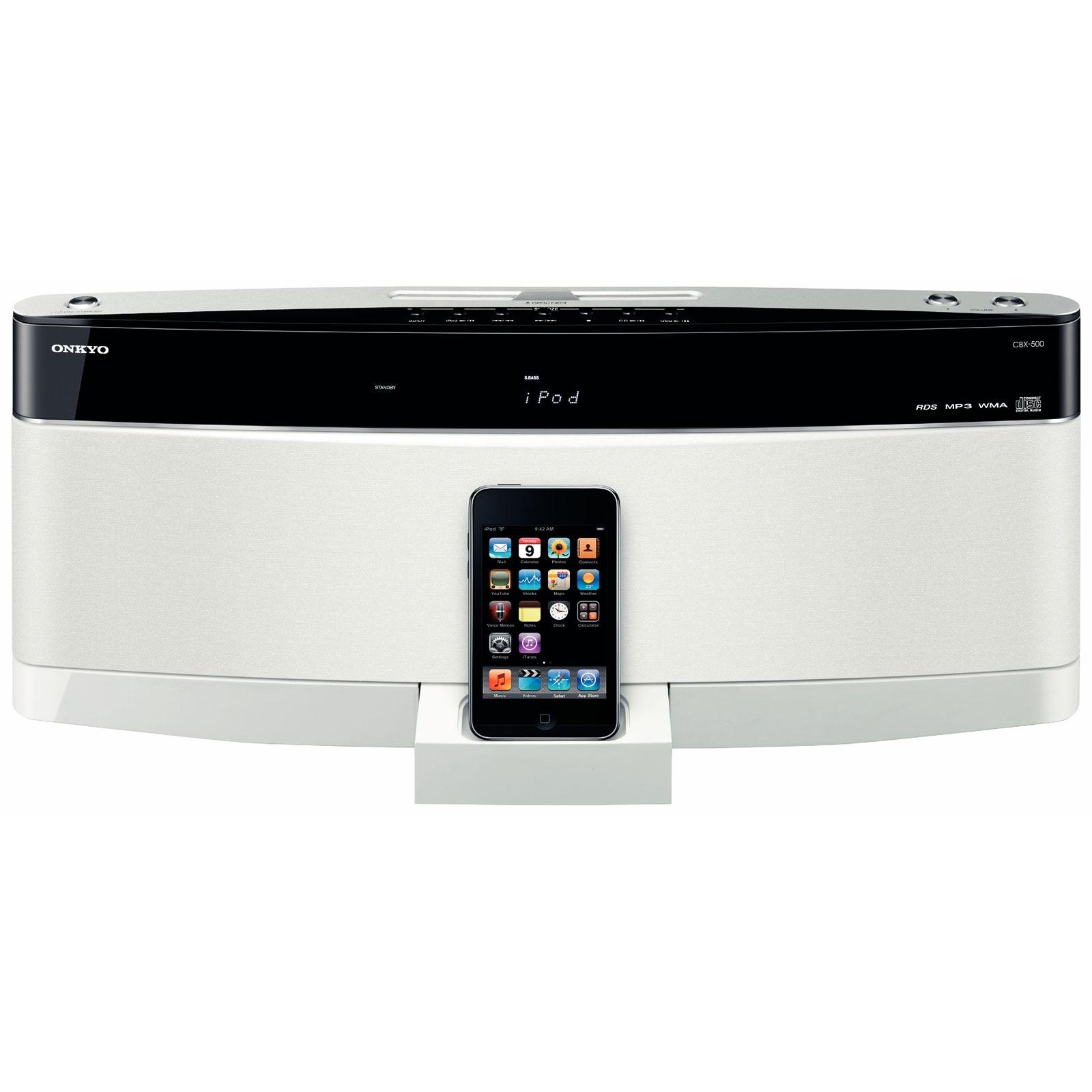 onkyo cbx 500 blanc apple ipod touch 8 go dock enceinte bluetooth onkyo sur ldlc. Black Bedroom Furniture Sets. Home Design Ideas