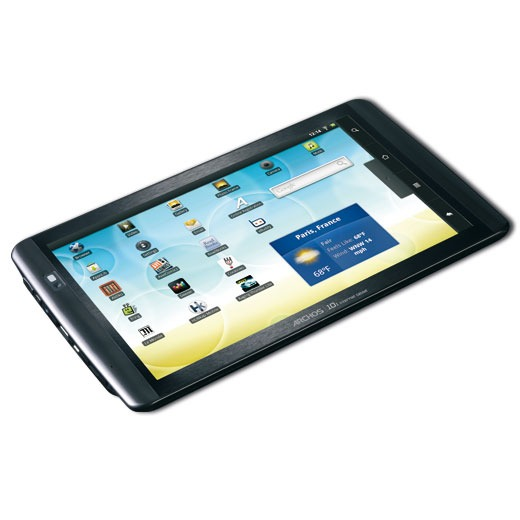 """Tablette tactile ARCHOS 101 internet tablet 16 Go ARCHOS 101 internet tablet 16 Go - Tablette Internet - ARM 1 GHz 16 Go 10.1"""" LCD Tactile Wi-Fi N/Bluetooth Android 2.2"""
