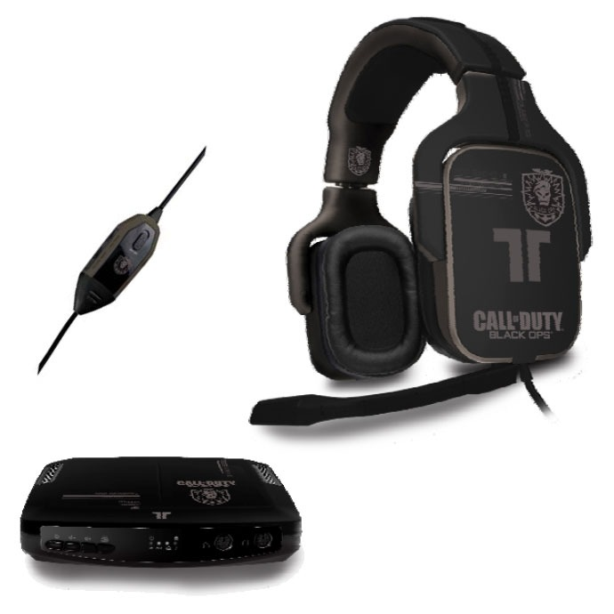 Micro-casque TRITTON Dolby Digital 5.1 Call of Duty : Black OPS TRITTON Dolby Digital 5.1 Call of Duty : Black OPS - Micro-casque 5.1 pour PS3 / Xbox 360