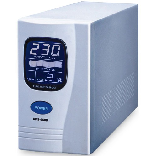 Onduleur Onduleur UPS-650D - Onduleur line-interactive 650 VA Onduleur UPS-650D - Onduleur line-interactive 650 VA (USB)
