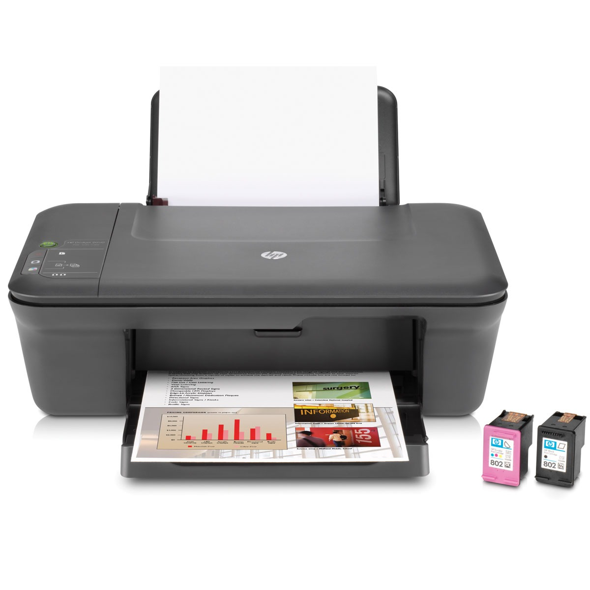 hp deskjet 2050 ch350b bgw achat vente imprimante multifonction sur. Black Bedroom Furniture Sets. Home Design Ideas