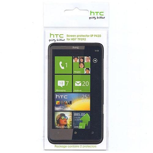 Film protecteur téléphone HTC SP P420 Lot de 2 Ecrans de protection pour HD7/T9292