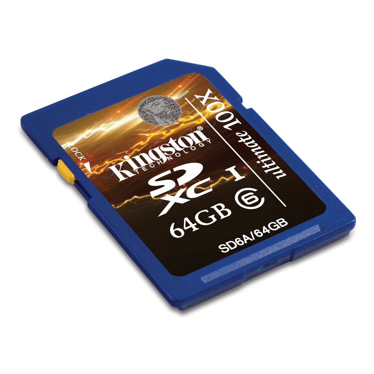 Carte mémoire Kingston SDXC Class 6 Ultimate 64 GB Kingston SDXC Ultimate 64 Go - Class 6 (garantie 10 ans par Kingston)