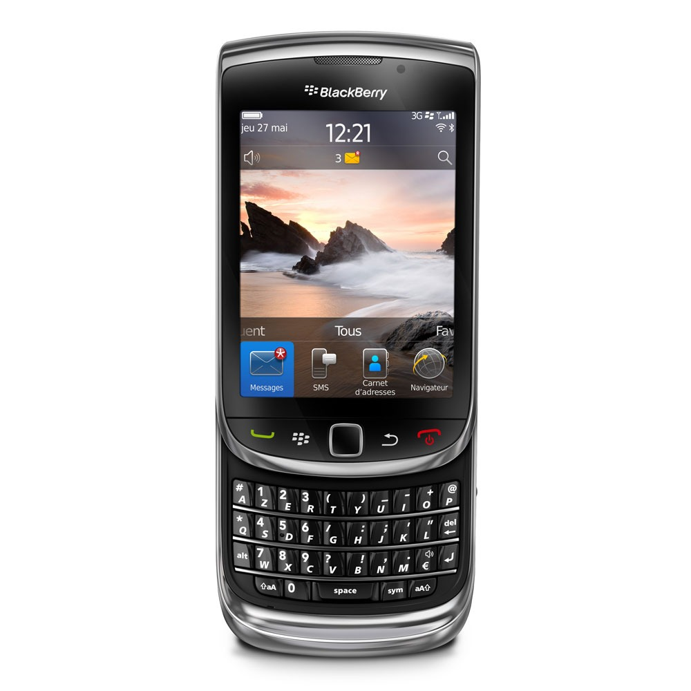 Blackberry torch 9800 torch achat vente mobile for Photo ecran blackberry