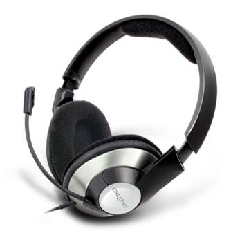 Micro-casque Creative ChatMax HS-620 Casque-micro pour conversations en ligne (Jack)