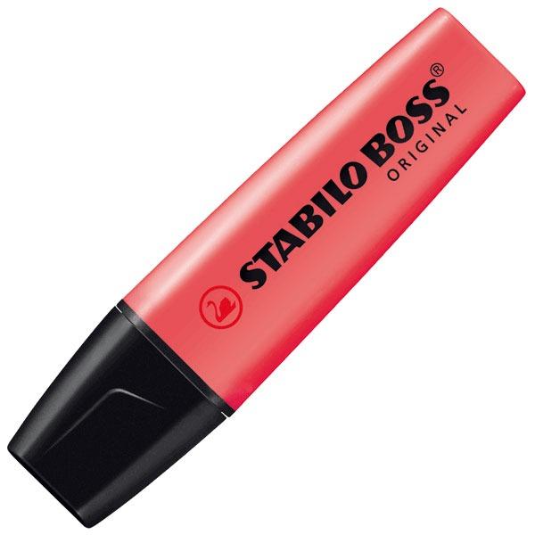 Stabilo Boss Rouge 340009 Achat Vente Surligneur Sur Ldlc Com