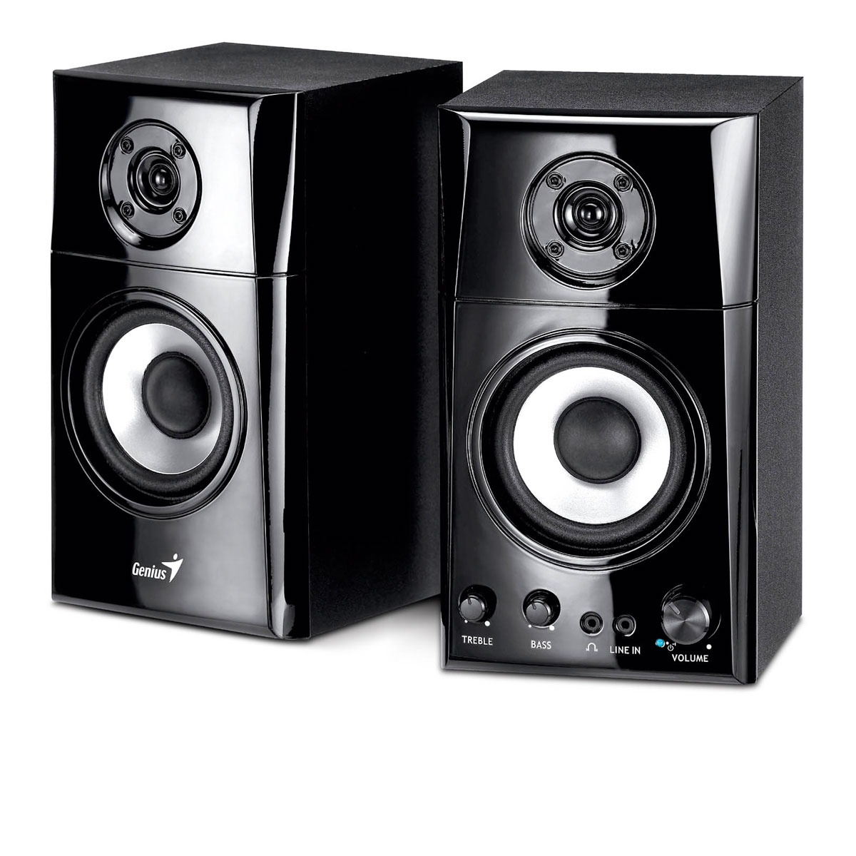 Enceinte PC Genius SP-HF1201A Genius SP-HF1201A - Ensemble 2.0