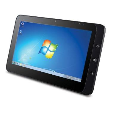 "Tablette tactile ViewSonic ViewPad 10 ViewSonic ViewPad 10 - Tablette Internet - Intel Atom N455  1 Go SSD 16 Go 10"" LED Tactile Wi-Fi N Webcam  Windows 7 Premium et Android 1.6"