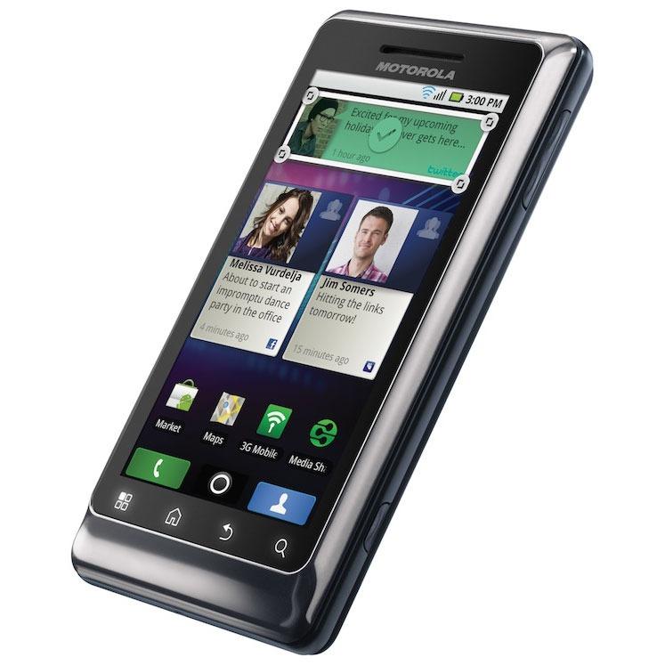 Motorola milestone 2 mobile smartphone motorola sur ldlc for Photo ecran motorola