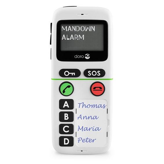 Mobile & smartphone Doro HandlePlus 334gsm IUP Téléphone d'urgence simplifié
