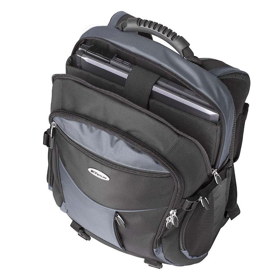 targus xl laptop backpack tcb001eu achat vente sac sacoche housse sur. Black Bedroom Furniture Sets. Home Design Ideas