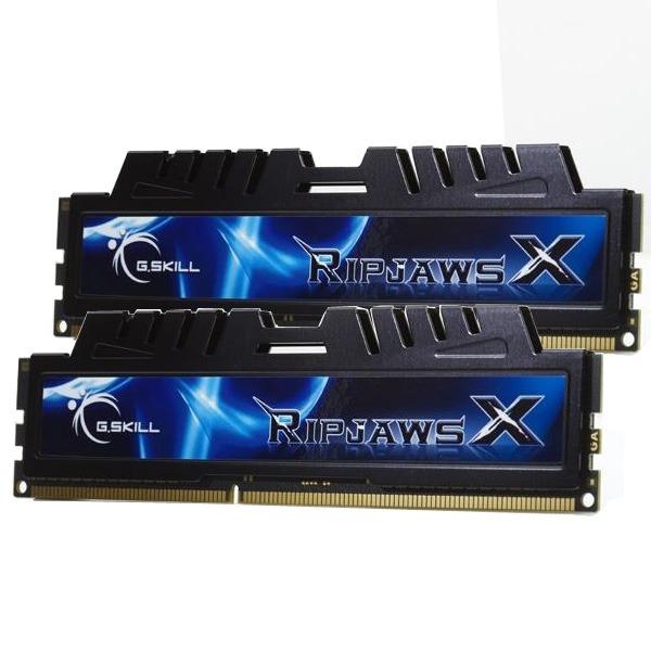 Mémoire PC G.Skill XH Series RipJaws X Series 4 Go (kit 2x 2 Go) DDR3 1333 MHz G.Skill XH Series RipJaws X Series 4 Go (kit 2x 2 Go) DDR3-SDRAM PC3-10600 - F3-10666CL7D-4GBXH (garantie 10 ans par G.Skill)