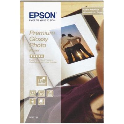 Papier imprimante Epson Papier glacé qualité photo Premium 10 x 15 cm Epson C13S042153 - Papier glacé qualité photo Premium 10x15 cm 255 g/m² (40 feuilles)