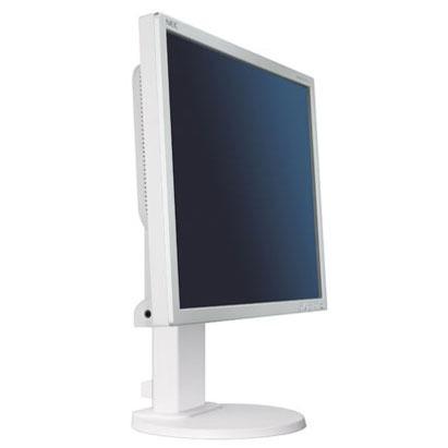 """Ecran PC NEC 19"""" LCD - MultiSync EA190M 1280 x 1024 pixels - 4 ms - Format 4/3 - Pivot - Argent/blanc (garantie constructeur 3 ans)"""