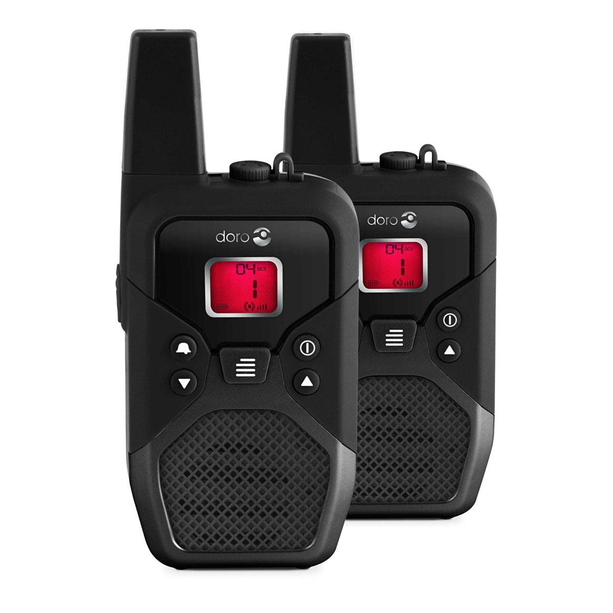 Talkie walkie Doro wt91x pro Doro wt91x pro - Pack de 2 Talkie-Walkies portée 10 km